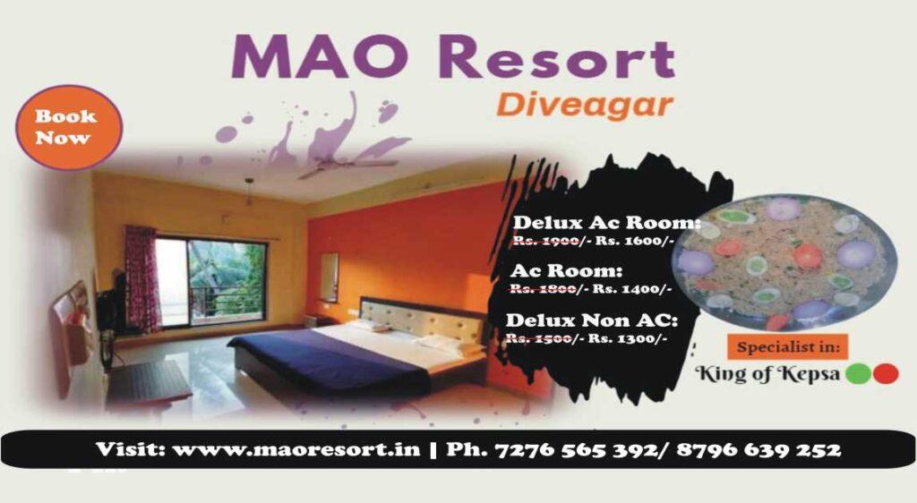 Resort in Shrivardhan